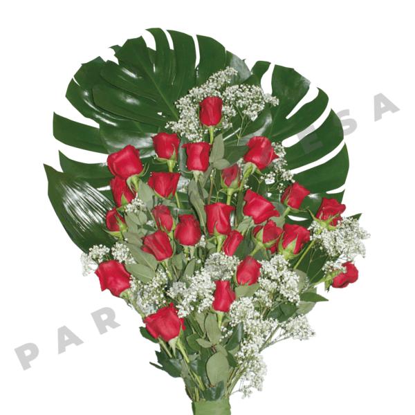 Ramo de rosas rojas | TIENDA PARCESA